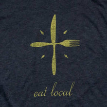 Eat Local Racerback Tank