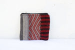 Coin Purse | Red & Grey
