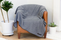 Fleece | Charcoal Blanket