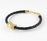 The Honeybee | Black Bracelet