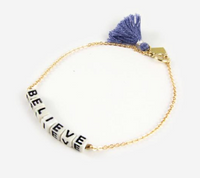 The Letter Believe | Bracelet