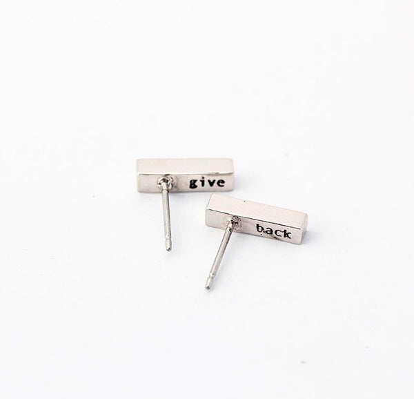 The Rae | Silver Earrings