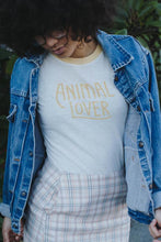Animal Lover | Fitted Ringer