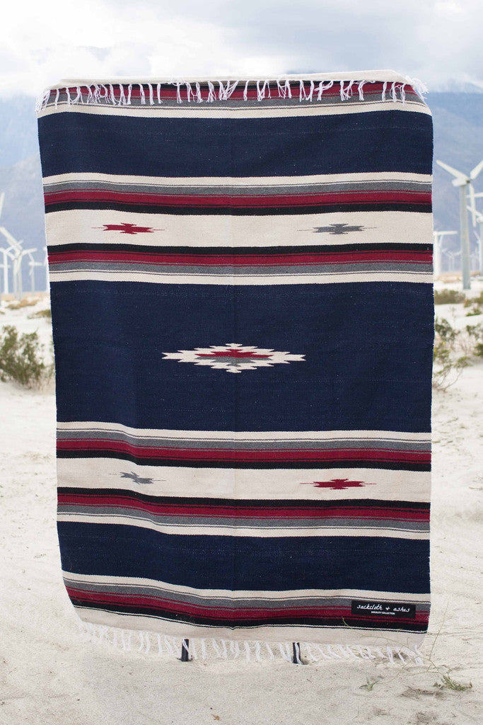 Southwest | Navy Blanket