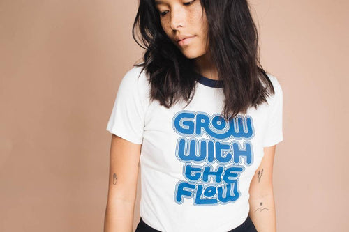 Grow with the Flow | Women's Fitted Ringer