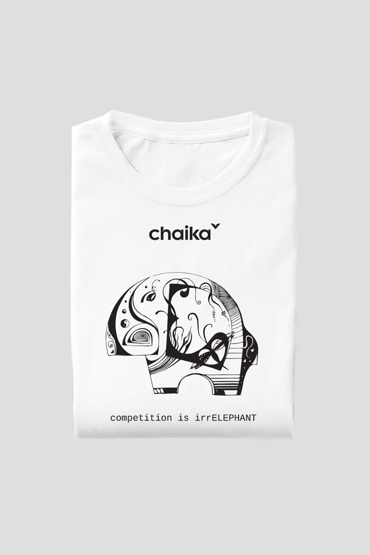 White T-shirt IrrElephant