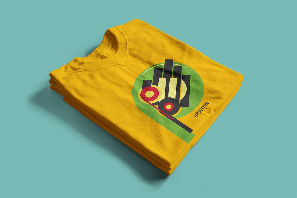 Echo Boom T shirt inspired by Lee Scratch Perry