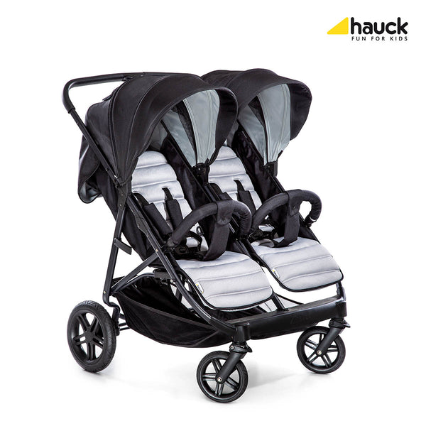 Rapid 3R Duo Double Pram - Hauck South Africa
