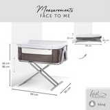 Face to Me Co-Sleeper Cot - Hauck South Africa