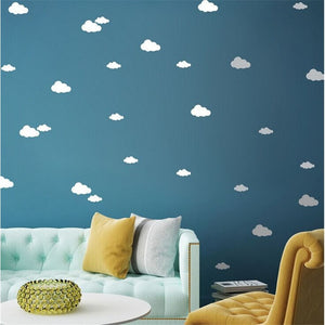 13 Clouds DIY Wall Simple And Creative Multi-size Wall Stickers - We'll donate 15% to Unicef-Beautify Sweden