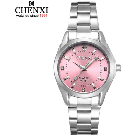 5 Fashion colors CHENXI Luxury Women's Casual Watch Women Rhnestone-Beautify Sweden