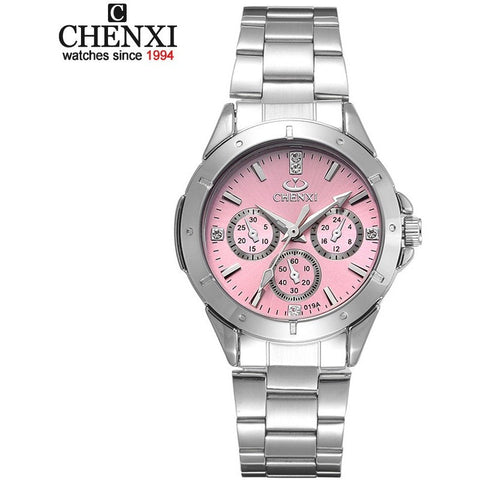 All Stainless Steel High Quality Diamond Watch Women Rhinestone Watches-Beautify Sweden