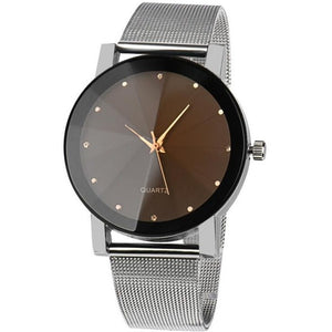 Malloom Women wristwatch with crystal band made of Stainless Steel-Beautify Sweden