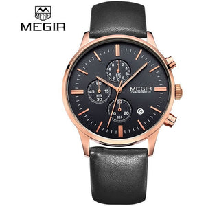 MEGIR Luxury Brand Men's watches Fashion Casual Sports Watches Business-Beautify Sweden