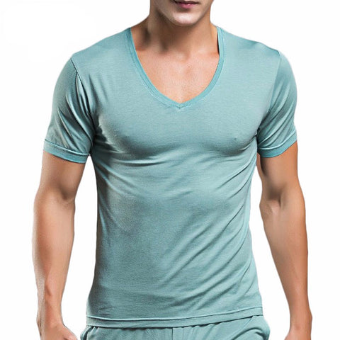Men T Shirt Cotton T shirts High Quality Summer T-shirts Short Sleeve Man T shirt Tops Casual O neck-Beautify Sweden