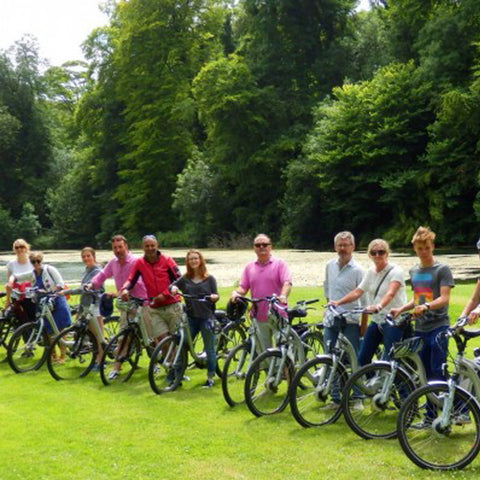Electric bike tour UK