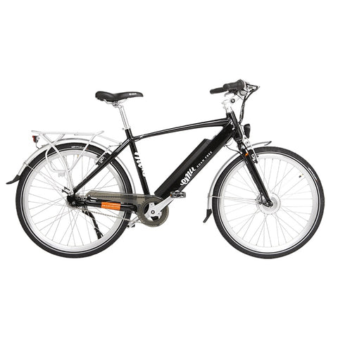 Emu Crossbar Electric bike in black