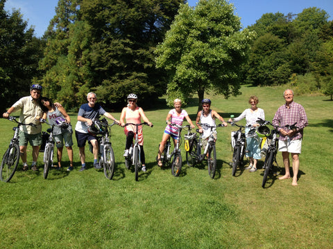 Electric bike guided tour