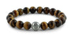 Tiger Eye and Silver Bracelet