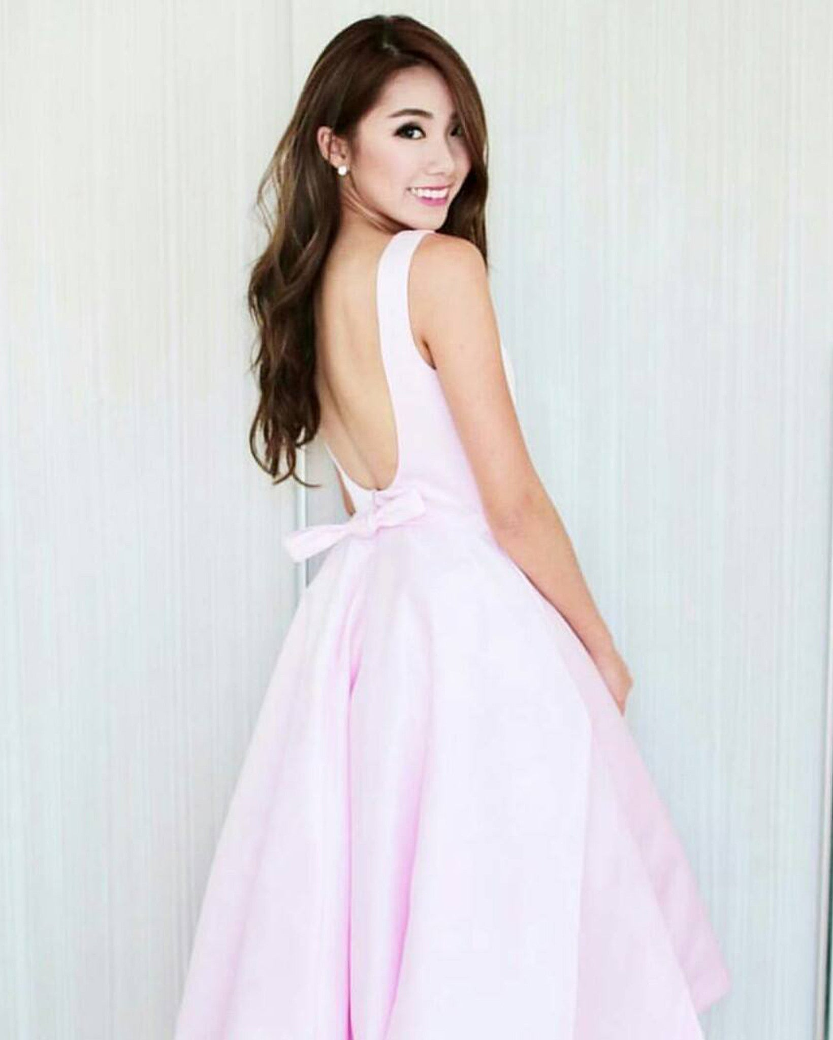 (BACK IN STOCK) Ari Blush Poofy Midi