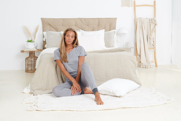 merino pajamas women