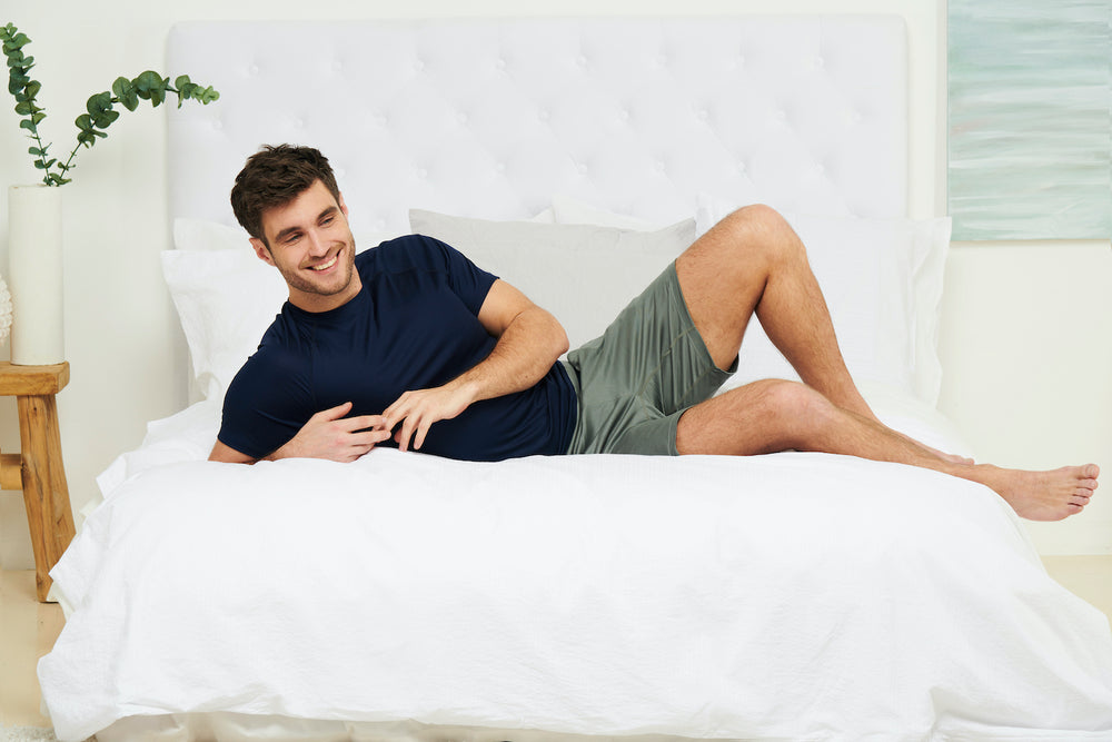 mens cooling pajamas