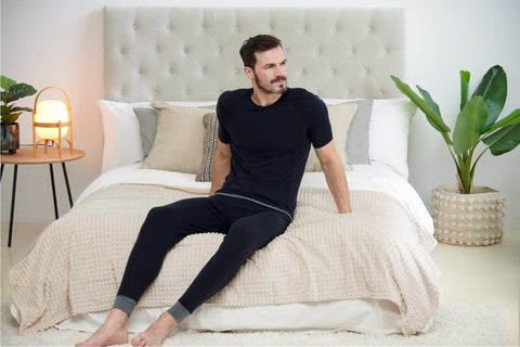 mens warm pyjamas