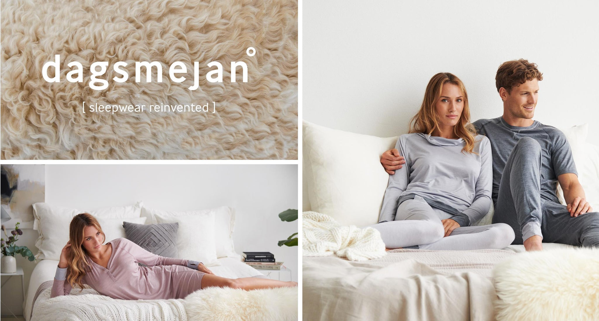 Merino wool pyjamas for men and women