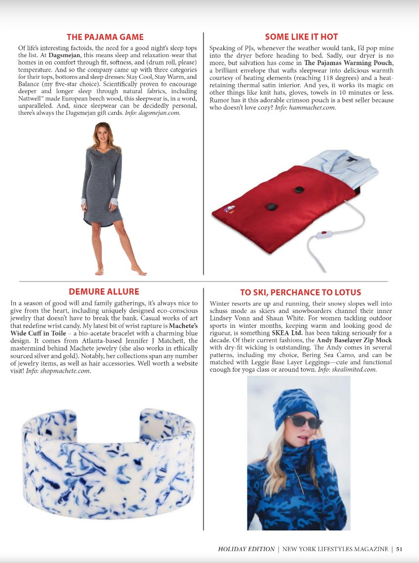 Dagsmejan test New York Lifestyles Magazine