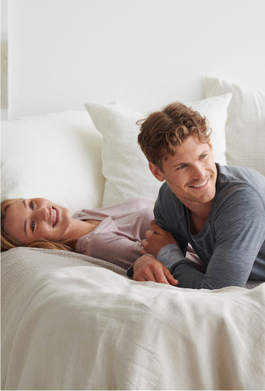 Merino wool pyjamas for a great night's sleep