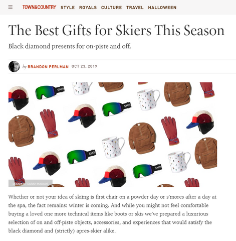 Best gift for skiers