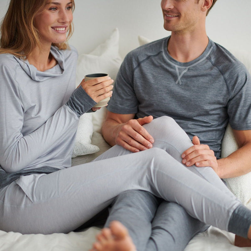 Merino wool pyjamas for a better sleep, no more sweating at night when cold