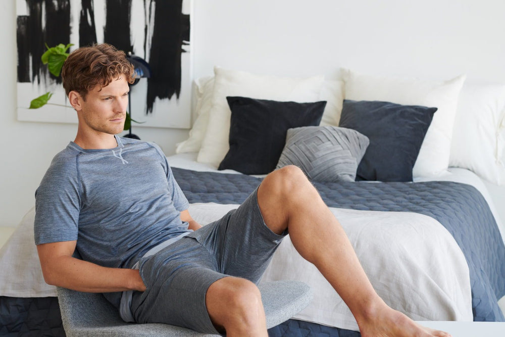 Merino wool pyjamas for a better night's sleep