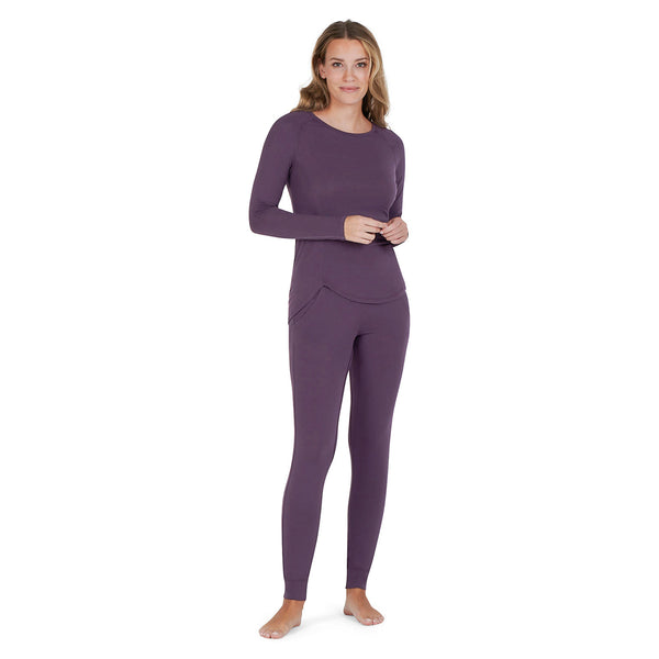 pajamas for night sweats deep ruby front