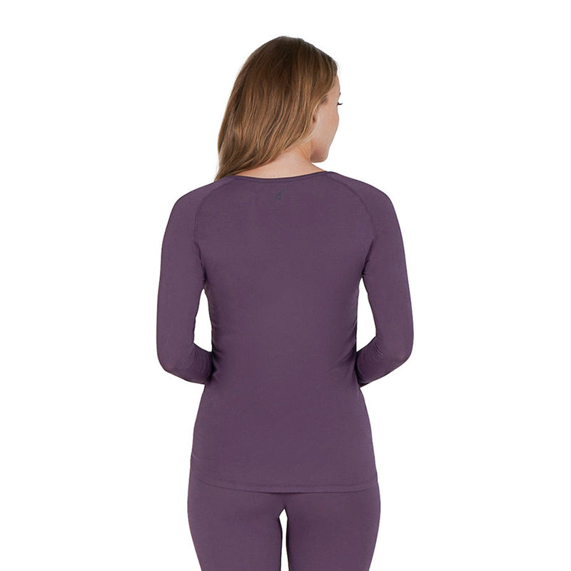 pajamas for night sweats deep ruby back