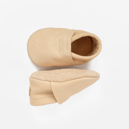 Loafers // Natural w/suede sole - GrayFoxCo