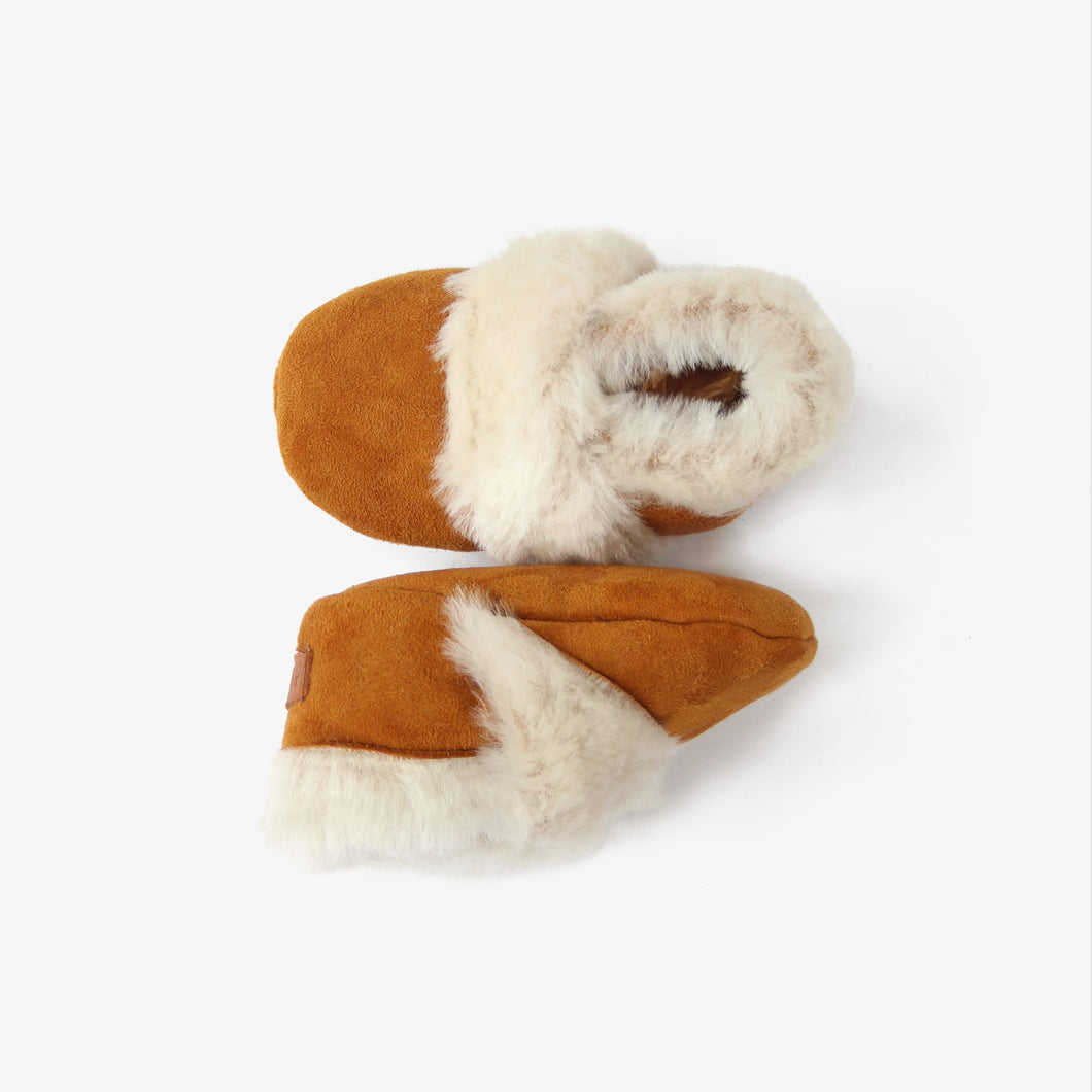 Shearling Booties // Spice - GrayFoxCo