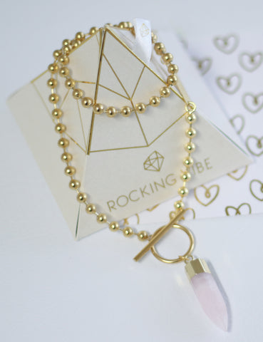 VALENTINE'S DAY LIMITED EDITION ARTEMIS - Rose Quartz