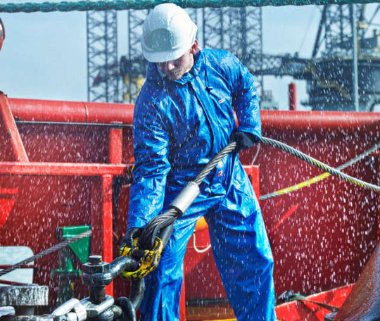 Wet Weather Workwear from RBM Offshore Safety Supplies