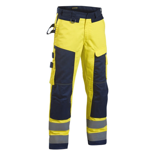 Blaklader Multinorm FR Antistatic Hi-Vis Craftsman Trousers-RBM Offshore Safety Supplies