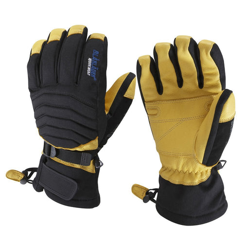 Blaklader Deerskin Lined Gloves-RBM Offshore Safety Supplies