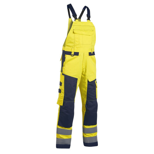 Blaklader Multinorm FR Antistatic Hi-Vis Craftsman Bib & Brace-RBM Offshore Safety Supplies