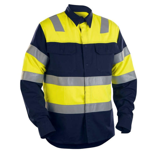 Blaklader FR Hi-Vis Shirt-RBM Offshore Safety Supplies