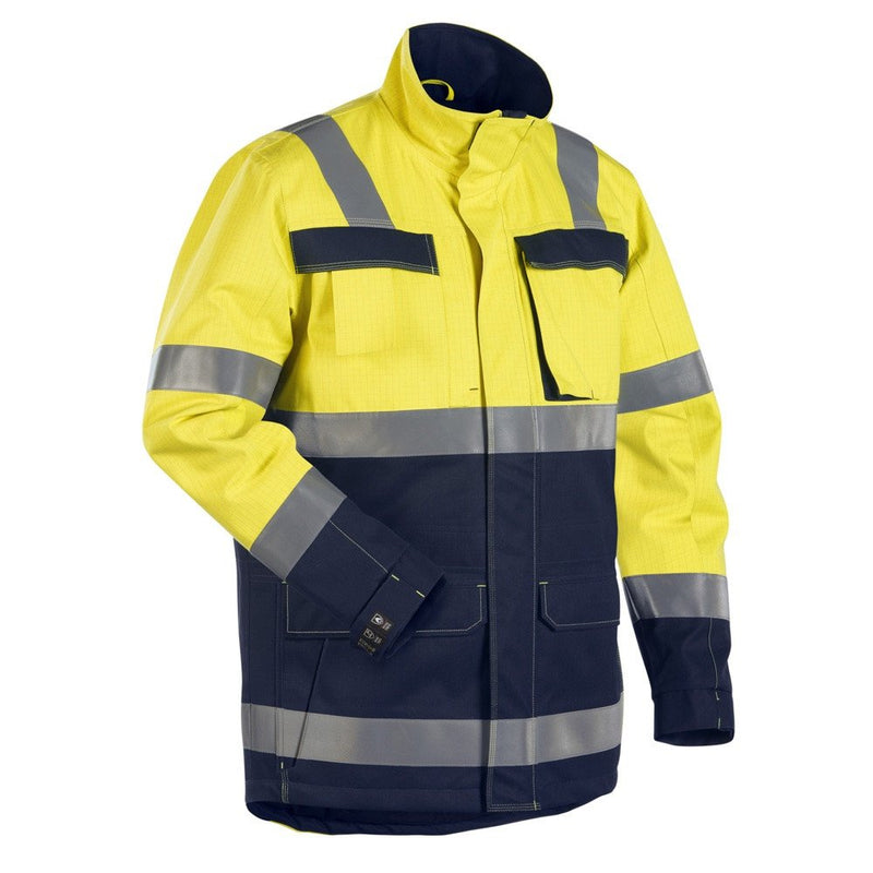 Blaklader Multinorm FR Hi-Vis Winter Jacket-RBM Offshore Safety Supplies