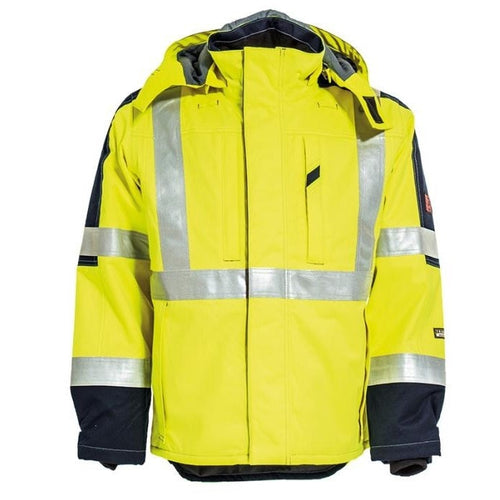 Tranemo Cantex FR Hi-Vis Winter Jacket-RBM Offshore Safety Supplies