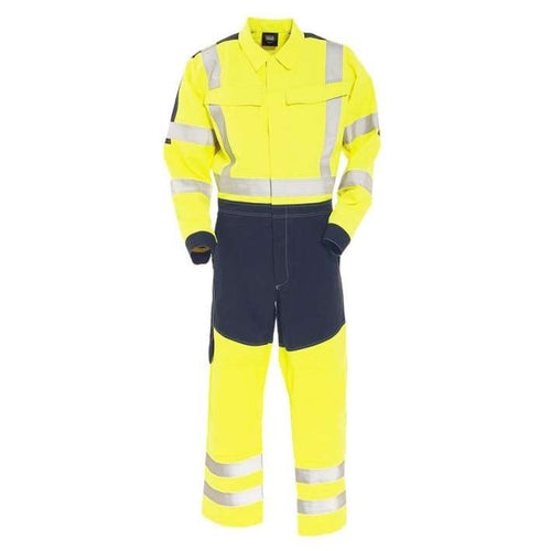 Tranemo Cantex Hi-Vis FR Overalls-RBM Offshore Safety Supplies