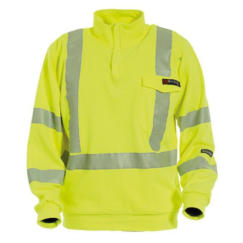 Tranemo Catex Hi-Vis FR Sweatshirt-RBM Offshore Safety Supplies