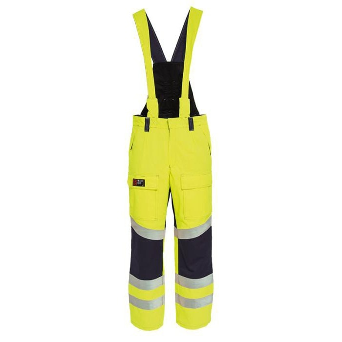 Tranemo Cantex Hi-Vis FR Winter Trousers-RBM Offshore Safety Supplies