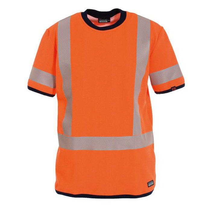 Tranemo Cantex FR Hi-Vis T-Shirt-RBM Offshore Safety Supplies