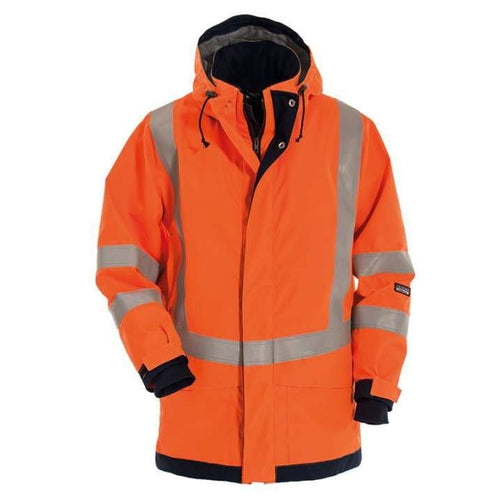 Tranemo Aramid FR Hi-Vis Winter Jacket-RBM Offshore Safety Supplies